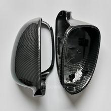 Lusterko boczne pokrywy czapki dla VW Golf MK5 GTI plus Passat B6 B5.5 dla Jetta 5 (wygląd węgla) Sharan wariant EOS dla volkswagena