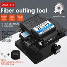 Spedizione gratuita fibra mannaia AUA 71S FTTH cavo fibra ottica taglio coltello strumenti taglierina tre in uno morsetto slot 16 lama di superficie