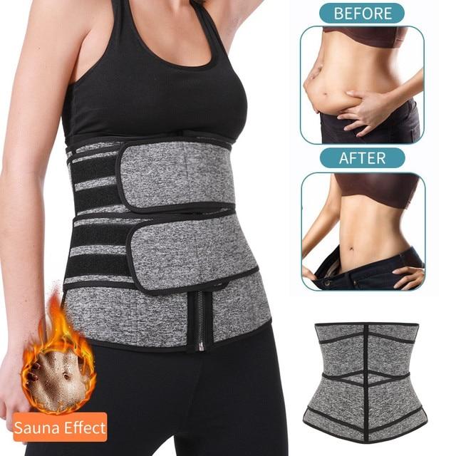Waist Trainer Neoprene Body Shaper Women Slimming Sheath Belly Reducing Shaper Tummy Sweat Shapewear Workout Trimmer Belt Corset