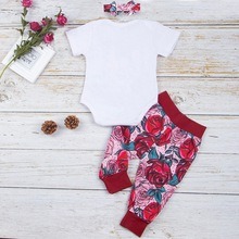 Baby and Toddler Girl Sister Matching Roses Outfits