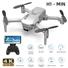 Wholesale H1 Mini Drone With Wifi Fpvdrone Quadcopter Foldable Rc Drone Altitude Hold Rc Drones Multifunction High Flying Toy