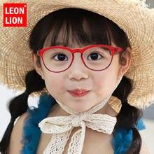 Leonlion Круглые ретро солнцезащитные очки для детей роскошные