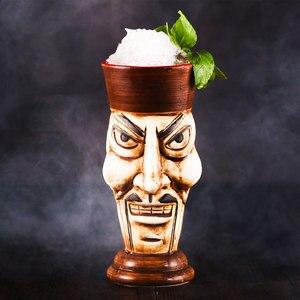 Image 3 - Tiki canecas personalidade havaiano cocktail copo criativo canecas cerâmica copo copo zombie copo cerâmica tazas de ceramica creativas