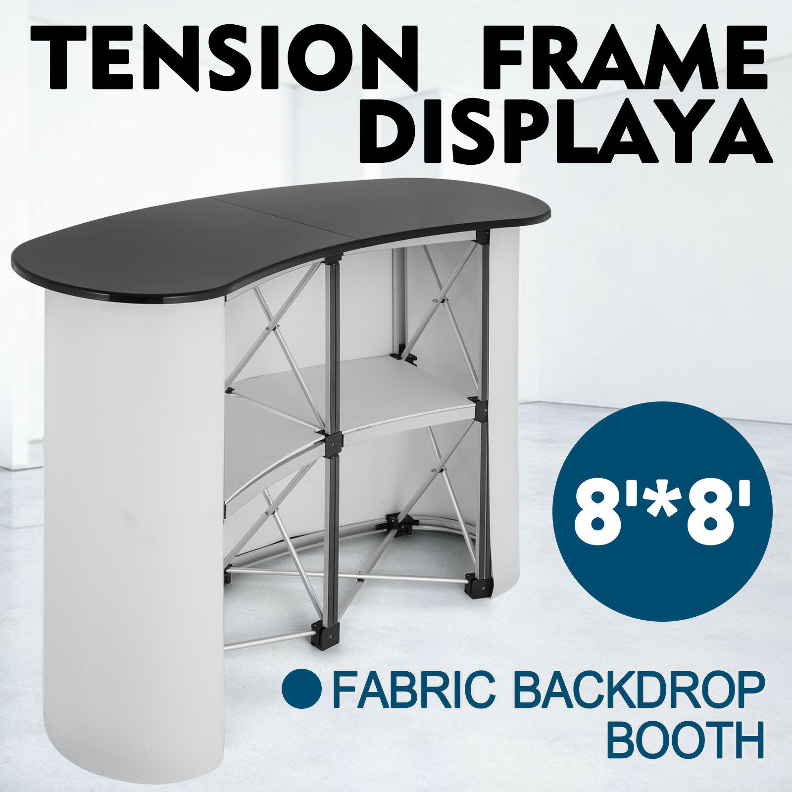Pop Up Trade Show Display Counter Promotion Podium Table Stand