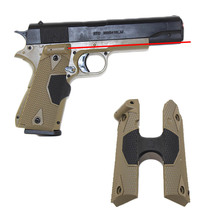 Тактическая рукоятка Red Dot Laser для 1911 страйкбола рукоятка пистолета Red Lasergrip прицел точка для наружного прицеливания инструмент принадлежности для охоты