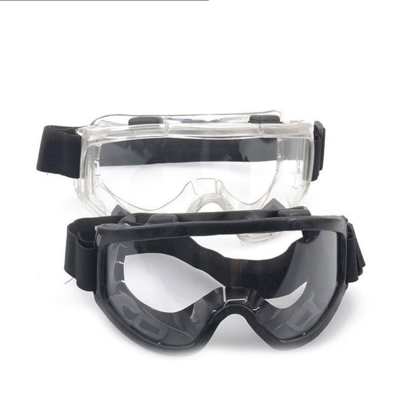 Transparent Visor Resistant Safety Glasses Shockproof Tactical Glasses Anti Dust Anti-Fog Antisand Windproof Saliva Goggles