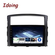 "Idoing 9 ""PX6 coche Android 10 Radio reproductor Multimedia para Mitsubishi Pajero V97 2006 2014 4G + 64G navegación GPS 2.5D No 2 din dvd"