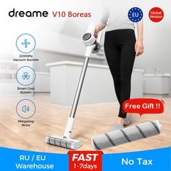 Dreame V10 Boreas пылесос ручной портативный беспроводной апгрейд V9 V9P собирает волосы для домашних животных