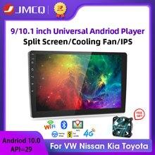 2 Din Android 8.1 2G + 32G 4G NET/9/10 1 inç araba radyo multimedya Video oynatıcı 2Din navigasyon GPS FM Nissan Kia Honda VW