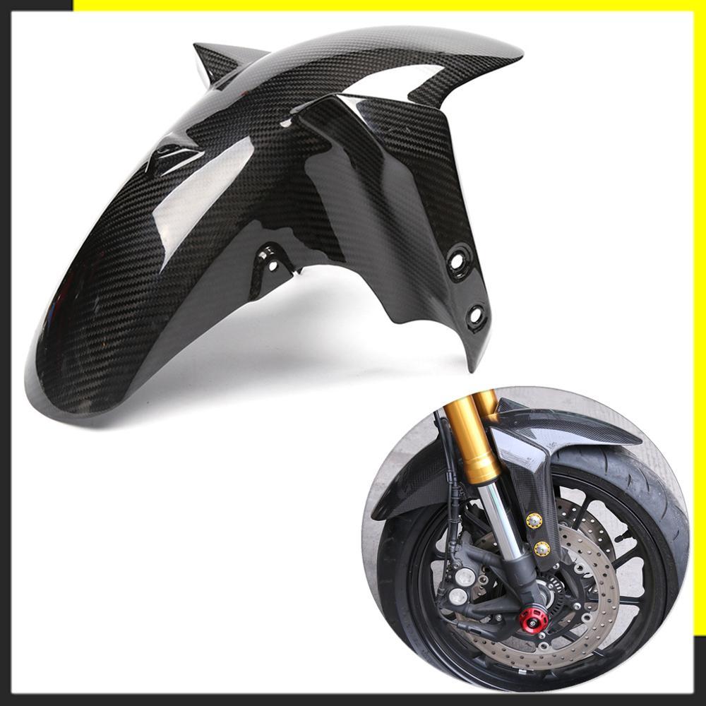 Motorcycle Carbon Fiber Front Rear Fender For Yamaha MT09 FZ09 MT 09 FZ 09 2014 2015 2016 2017 Splash Mud Guard Mudguard Guard