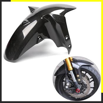 цена на Motorcycle Carbon Fiber Front Rear Fender For Yamaha MT09 FZ09 MT 09 FZ 09 2014 2015 2016 2017 Splash Mud Guard Mudguard Guard