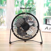 Портативный мини вентилятор с usb алюминиевый настольный кулер