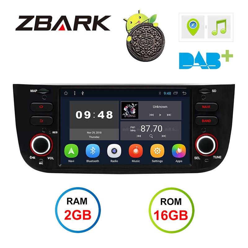 Android 8,1 автомобиль радио dvd плеер 2 г Оперативная память gps wi-fi Bluetooth Canbus для FIAT Punto 199 310/Linea 323 2012 2013 2014 2015 2016