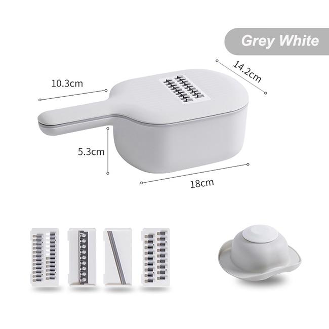 Grey White-Multifunctional Chopper