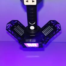 Portable Sterilizing Lamp Adjustable Hanging Type Led Ultraviolet Germicidal Light for Indoor Warehouse Office Bedroom