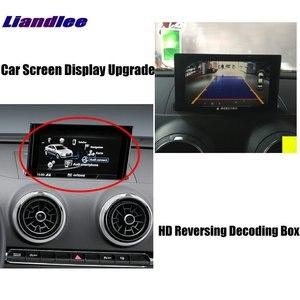 Image 2 - Voor Achter Camera Originele Scherm Upgrade Voor Audi Q3 2010 2012 2013 2014 2015 2016 2017 2018 2019 2020 backup Camera Decoder