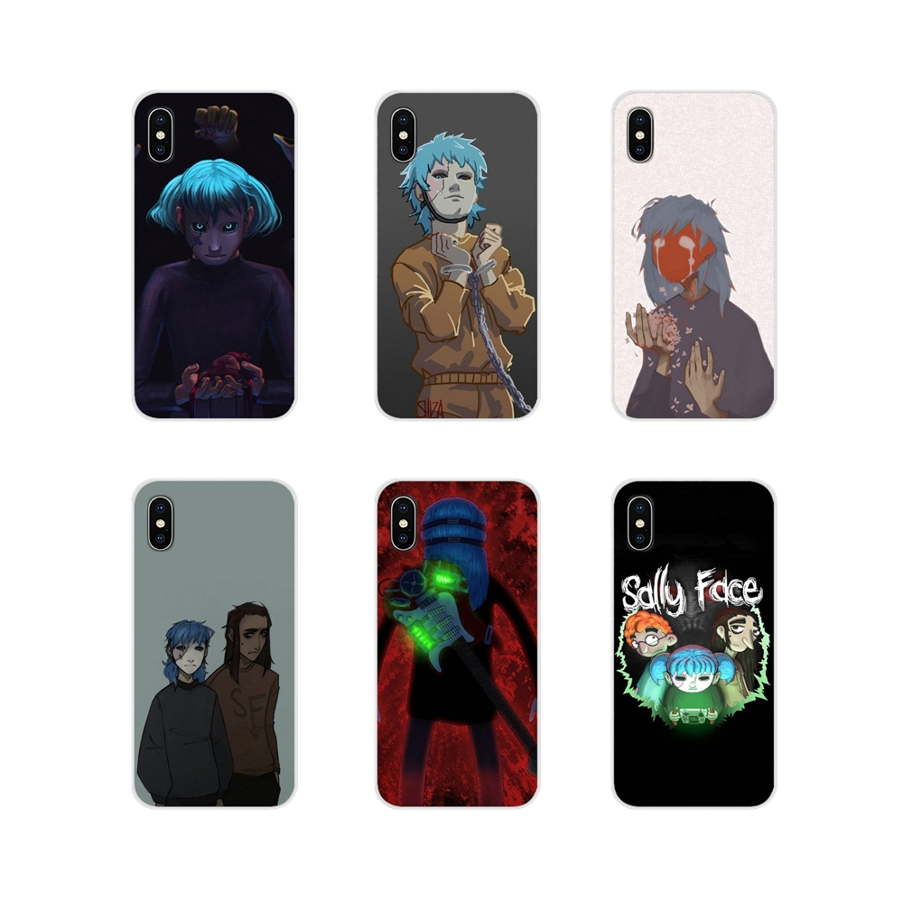 Accessories Phone Cases Covers Sally Face Game For LG G3 G4 Mini G5 G6 G7 Q6 Q7 Q8 Q9 V10 V20 V30 X Power 2 3 K10 K4 K8 2017
