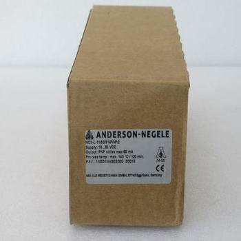 New ANDERSON-NEGELE Temperature Sensor switch NCS-L-11/50/PNP/M12 in stock