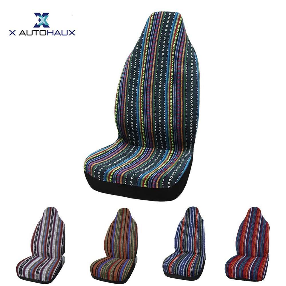 Чехлы на сиденья автомобиля X Autohaux, 13 цветов, универсальные чехлы на сиденья автомобиля, грузовика, внедорожника