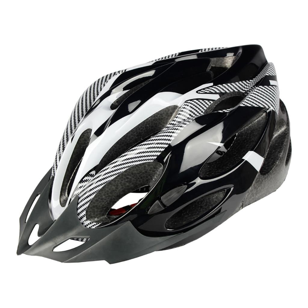 2020 Bicycle Cycling Helmet Ultralight EPS+PC Cover MTB Road Bike Helmet Integrally-mold Cycling Helmet Cycling Safely Cap 716