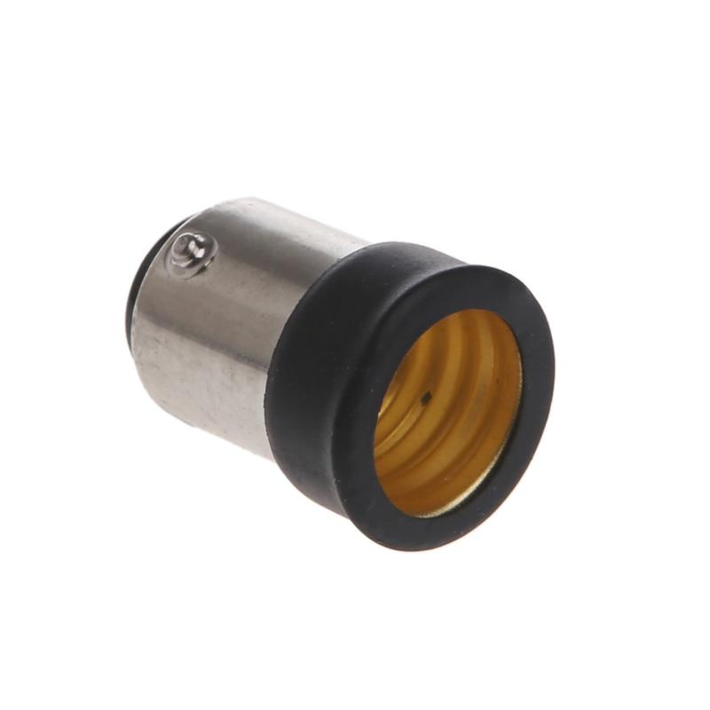 B15 macho para e14 fêmea lâmpada soquete luz extensor adaptador conversor titular