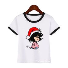 Детская футболка в стиле Харадзюку с принтом для девочек милые
