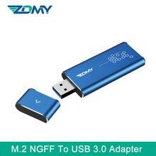 Конвертер zomy m2 ngff на usb 30 адаптер ssd чехол внешний портативный