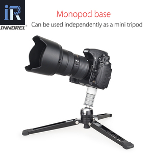 Image 4 - VM70K Professional Lightweight Aluminum Telescopic Camera Monopod with Fluid Head and Tripod Base for DSLR Video Cameras