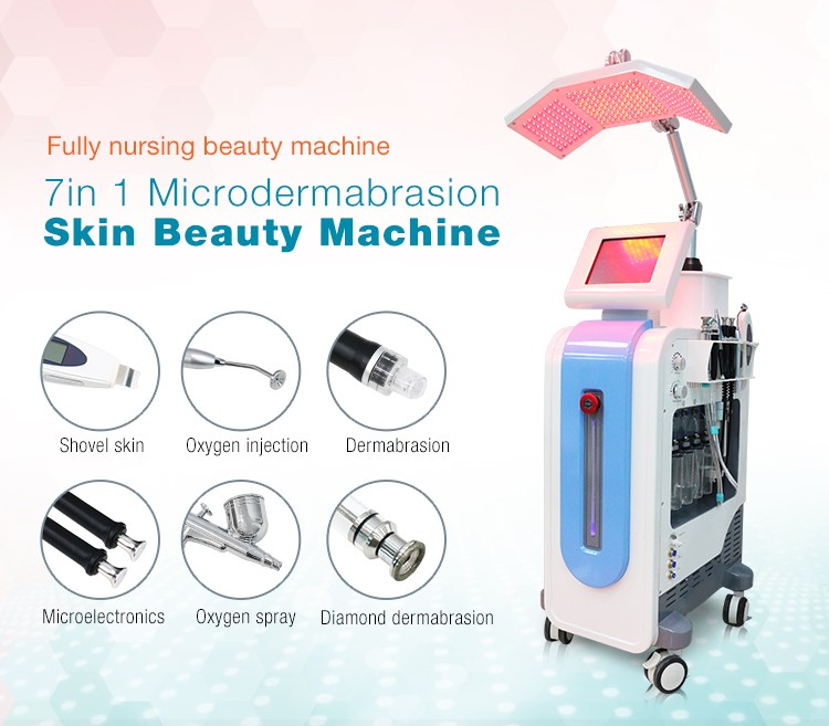 High Quality Multi-Functional Hydrafacial Skin Rejuvenation Machine PDT Bio-Light Therapy Wrinkle Removal For Skin