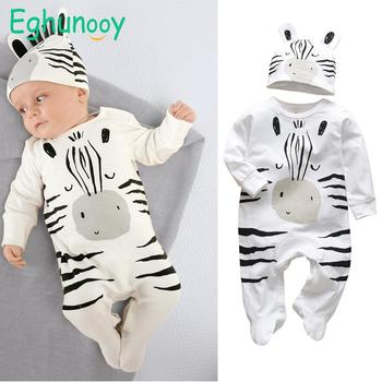 Baby's Creative Romper with Beanie 1