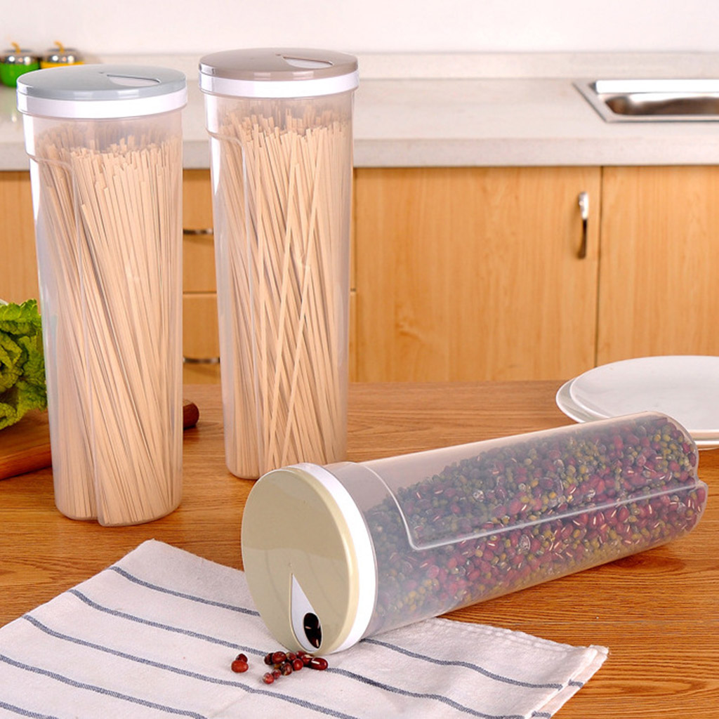 Chopsticks-Boxes Noodle-Storage-Box Cutlery Kitchen-Containers Food-Canister Multifunction title=