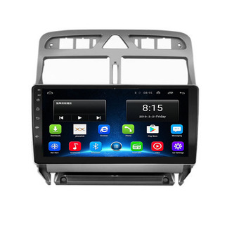 2din Android 10 car DVD multimedia player for Peugeot 307 307CC 307SW 2002-2013 car radio GPS navigation WiFi Bluetooth player image