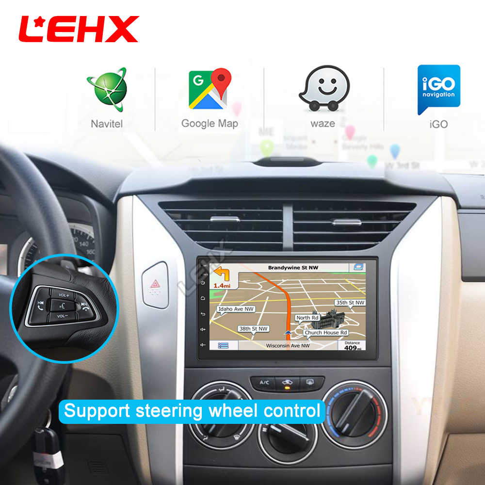 "2 Din 7 ""Universal Android 9,0 Auto Multimedia Video Player 2DIN Stereo Auto Radio GPS für Volkswagen Nissan Hyundai kia toyota"
