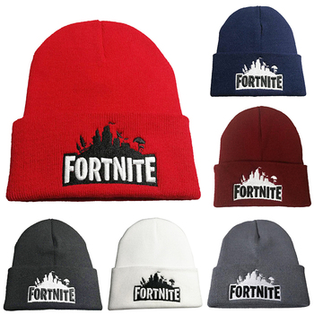 Fortnites Knitted Wool Hat Men Women Warm Cap Fashion Solid Hip-hop Beanie Hat Unisex Cap Casual Student Fashion Color Hat Gifts 1
