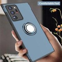 Fall Für Samsung Galaxy Note 20 Ultra 10 S20 Ultra S10 Plus S10E M30 M20 M10 A9 A8 Stern A6 plus 2018 Abdeckung Ring Magnet