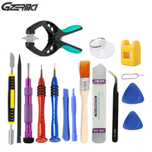 16 In 1 Mobile Phone Repair Disassembly Tools Kit Opening Screen Screwdrivers Sets For iPhone 5 5s 6 6S Smartphone Hand Tool Set