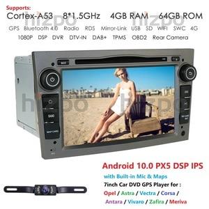 Image 2 - Hizpo 4G RAM Octa 8 Core Android 10.0 2 DIN Car DVD Player For Opel Astra H Vectra Corsa Zafira B C G car WIFI SWC OBD2 DVR