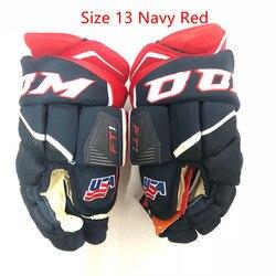 FT1 guantes de Hockey de hielo CC M Hockey guante de protección deporte Senior 13 14 tamaño Icehockey guante en línea calle Floorball Hockey