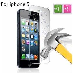 Гарантия качества, закаленное стекло для 5, защита на весь экран, Защитное стекло для iPhone 5 + салфетки