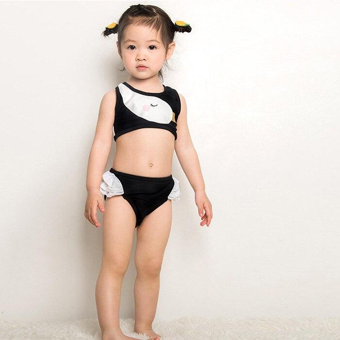 New Style Split Type Cute Baby Girls CHILDREN'S GIRL'S Swimsuit South Korea CHILDREN'S Bikini Swimwear Processing Factory Price