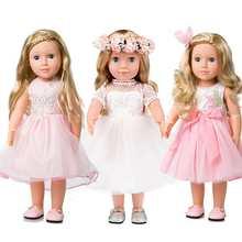 Силиконовые куклы Новорожденные, полноразмерные Куклы 45 см, Реалистичная кукла для малышей, подарок на Рождество и день рождения для девоче...