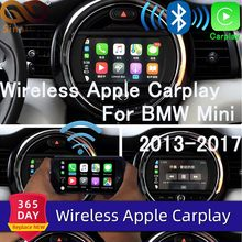 Sinairyu inalámbrico Apple Carplay para BMW Mini EVO 6,5 pulgadas/8,8 pulgadas pantalla 2017-2019 Airplay Android Auto Apple espejo coche Play(China)