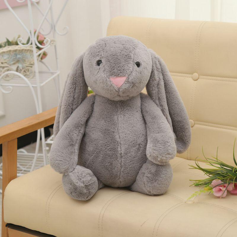 Милые плюшевые домашние тапочки с кошечкой из мультфильма кроликом кукла для детской коляски спальный партнеров кроватки палатка декор ук...