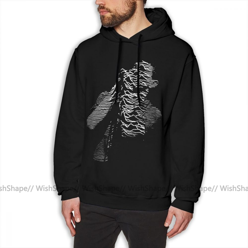 Joy Division Hoodie Joy Division Hoodies White Cotton Pullover Hoodie Male Stylish Outdoor Autumn Long X Hoodies