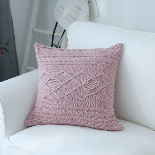 knitted Scatter Cushions 1
