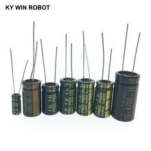 10 шт. 16 В алюминий электролитический конденсатор 10 мкФ 22 мкФ 33 мкФ 47 мкФ 100 мкФ 220 мкФ 470 мкФ 680 мкФ 1000 мкФ 2200 мкФ 3300 мкФ 4700 мкФ 6800 мкФ 22000 мкФ