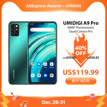 UMIDIGI A9 Pro 32 48MP Quad Camera 24MP Selfie Camera 6GB 128GB Helio P60 Octa Core 6 3 #8243 FHD+ Global Version Cellphone cheap Not Detachable CN(Origin) Android Fingerprint Recognition Face Recognition 4150 Nonsupport english Russian German French