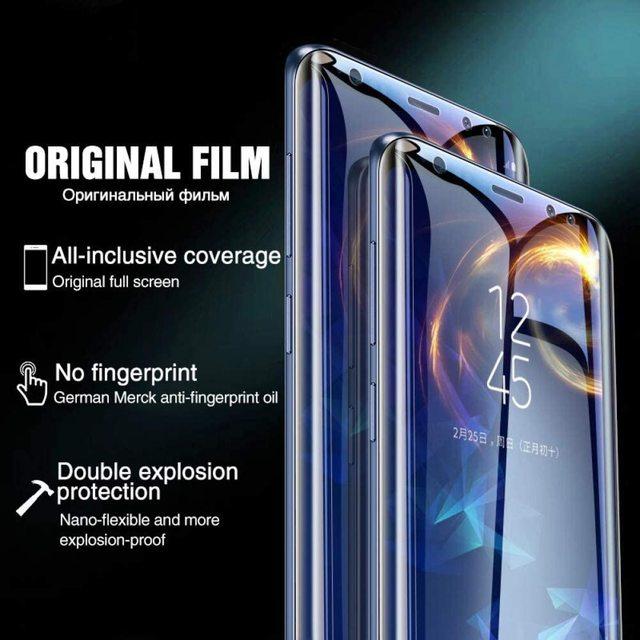 Hydrogel Film On For Samsung Galaxy J3 J5 J7 2016 2017 J2 J5 J7 Prime Screen Protector For Samsung J2 J4 J6 J8 Protective Film 6