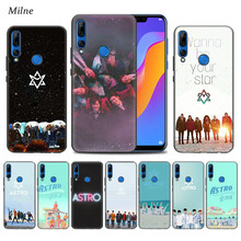 Astro Kpop boy Band Case voor Huawei Y9s Honor 9X Pro Play 3 3e 10 20 20s 10i 8X 8C Y9 Y7 Y6 2019 Zwart TPU Telefoon Coque Covers(China)
