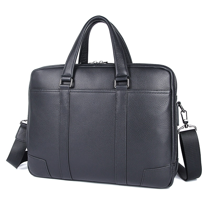 Men's Leather Handbag Male Genuine Leather Men Bags Laptop Bag Document Bags 7418A
